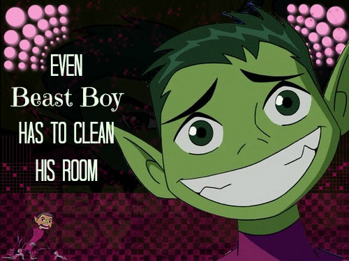 Beast-Boy room poster