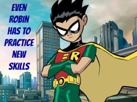 Robin practice poster