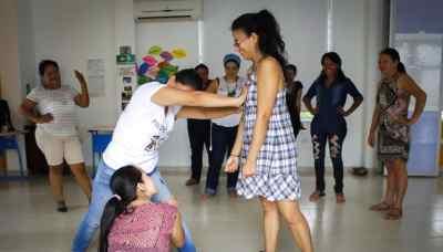 Taller realizado con profesionales de la ONG ABC en Yopal (Casanare)