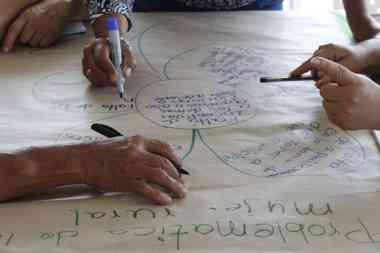 Mujeres rurales de Santander