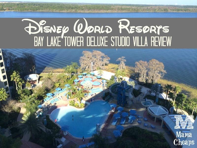 Disney World Resorts Bay Lake Tower Deluxe Studio Villa