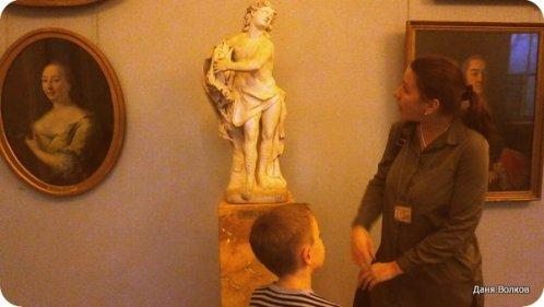 Аполлон с лирой в Русском музее
