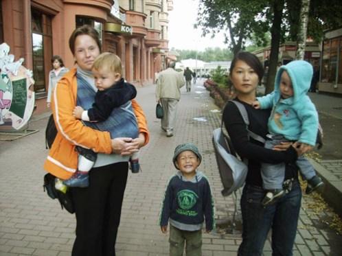 Виктория Собещук и Адиза Абжапарова