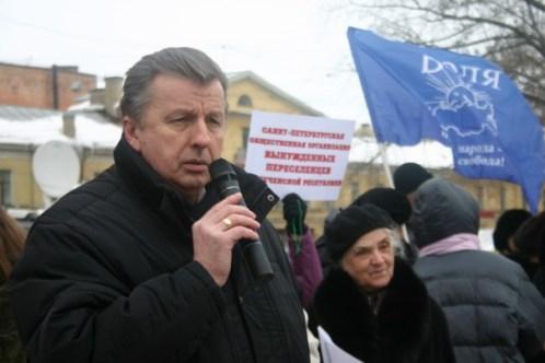 5 марта Депутат ЗС СПб