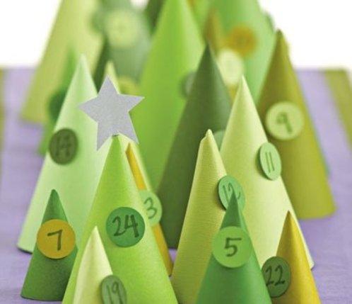 advent календарь ожидания для папы елочки