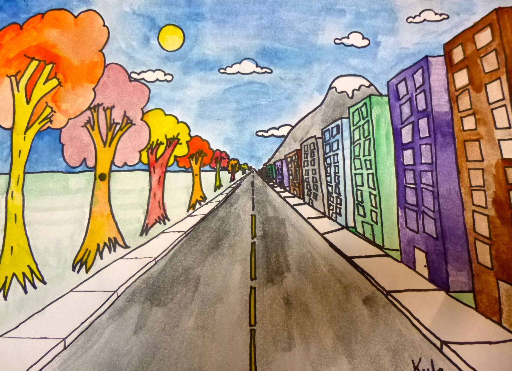 13 How To Draw Perspective Ks2