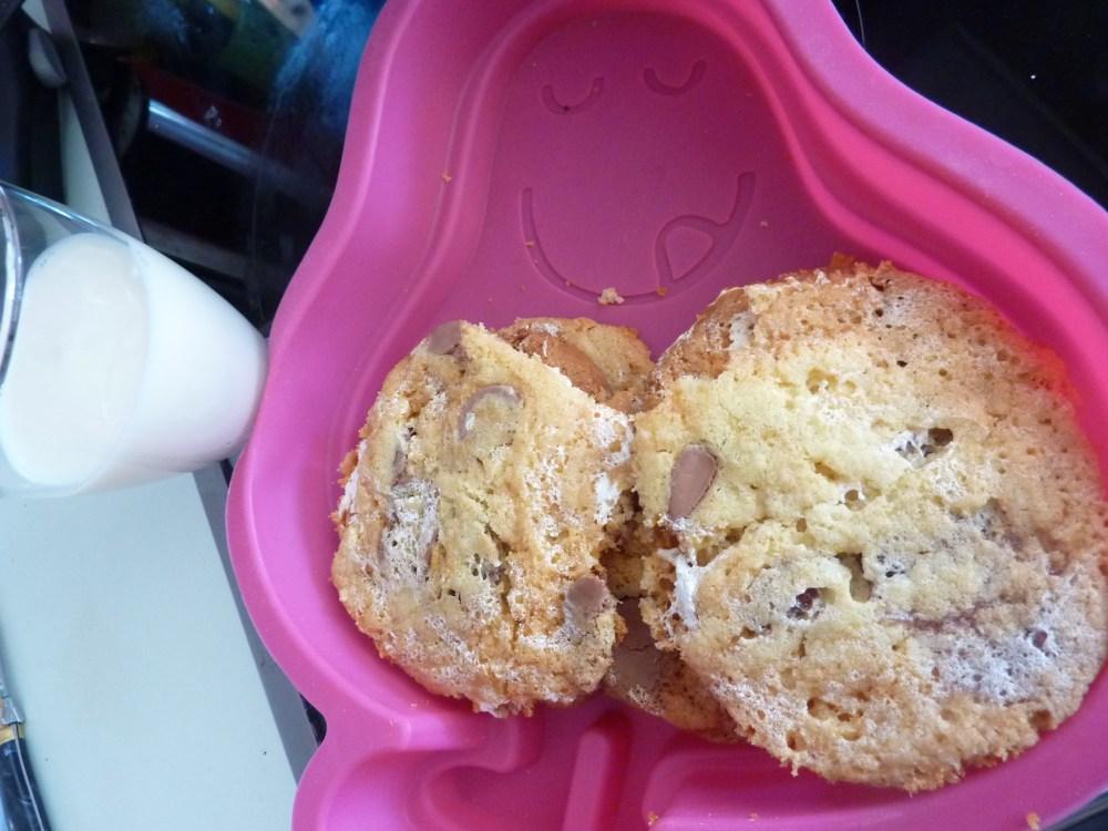 Cookies  Marshmallow Fluff et pépite de chocolat  (3/3)