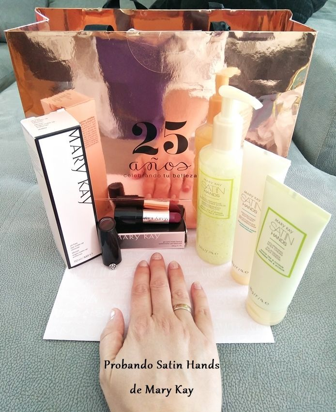 set manos satin hands de mary kay