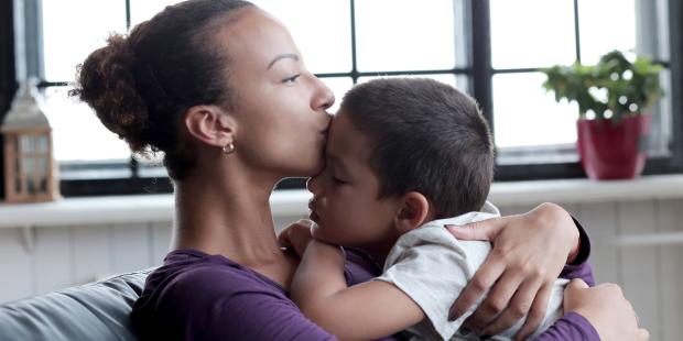 Pentru copii, nu există prea multă mamă