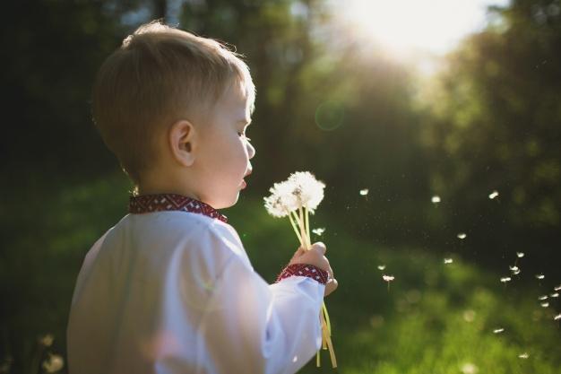 Copilul păpădiilor, al florilor și al penelor