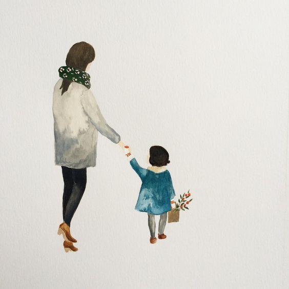 Copiii cresc. Dar inima mamei nu le va rămâne niciodată mică