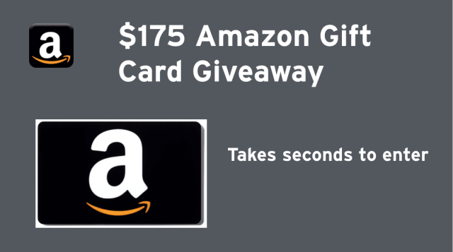Dropprice $175 Amazon Gift Card Giveaway