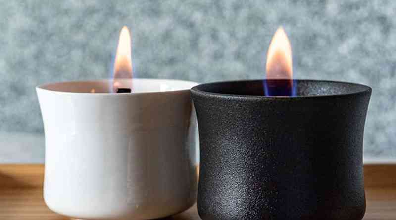 modern candle