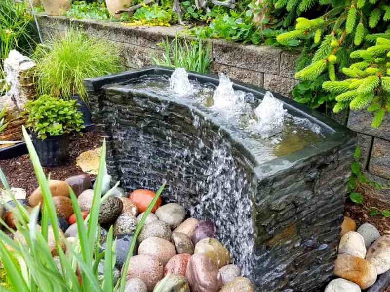 transform your yard- water feature