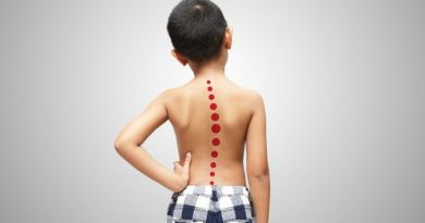 types of back problems in kids