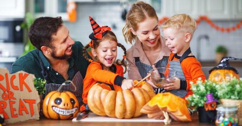 family bonding activities for Halloween
