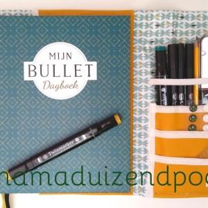 Bullet journal organizer
