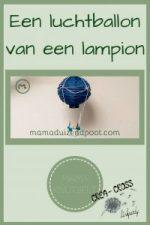 Pinterest - Een luchtballon van een lampion