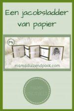 Pinterest - jacobsladder van papier