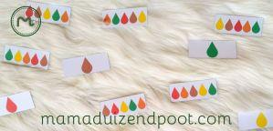 rekenboom (sorteren en kleurenritme)