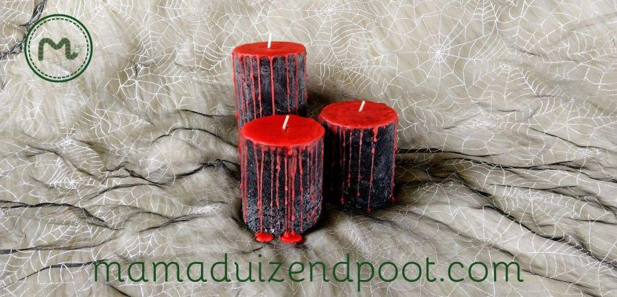 Bloedende kaarsen