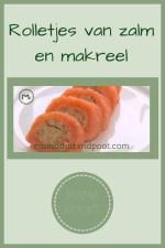 Pinterest - Rolletjes van zalm en makreel