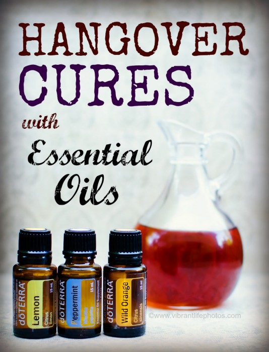 Essential Oils for Hangovers | Mama Dweeb