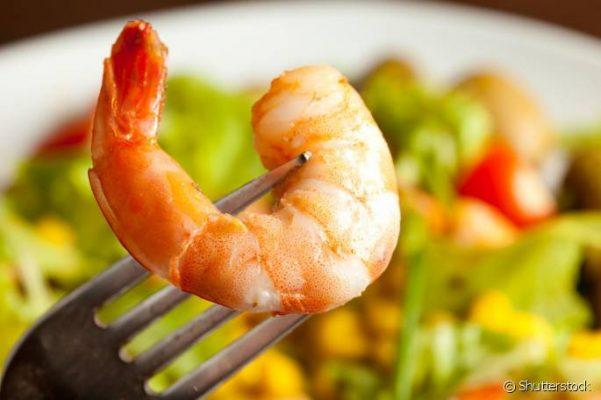 alimentos proibidos para crianças - frutos do mar