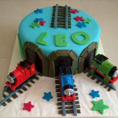 thomas e seus amigos ideias de bolo
