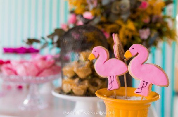 docinhos flamingo
