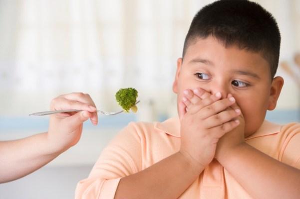 obesidade infantil brócolis
