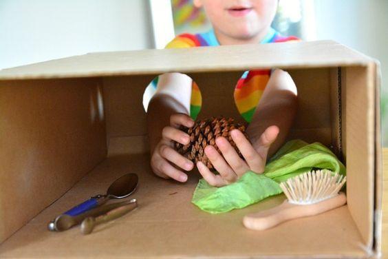 brinquedos com recicláveis - caixa de surpresas