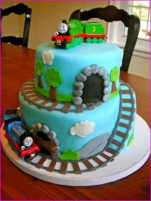 trem thomas bolo de aniversário