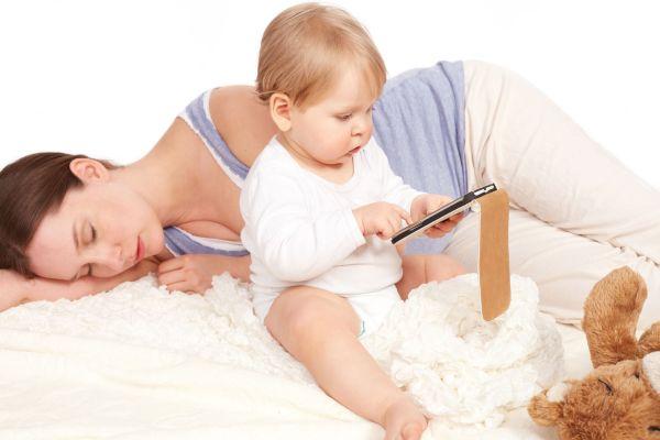 maes dormem menos que o pais