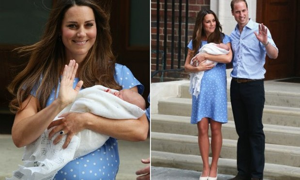 A barriga real de Kate