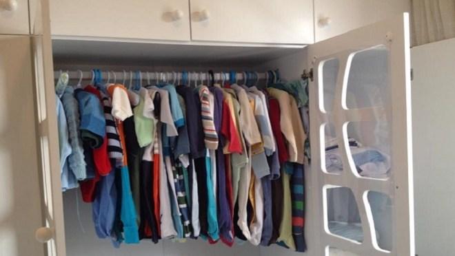 Como organizar o armário do bebê