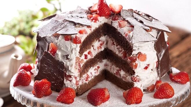Mamãe na Cozinha: bolo floresta negra de café