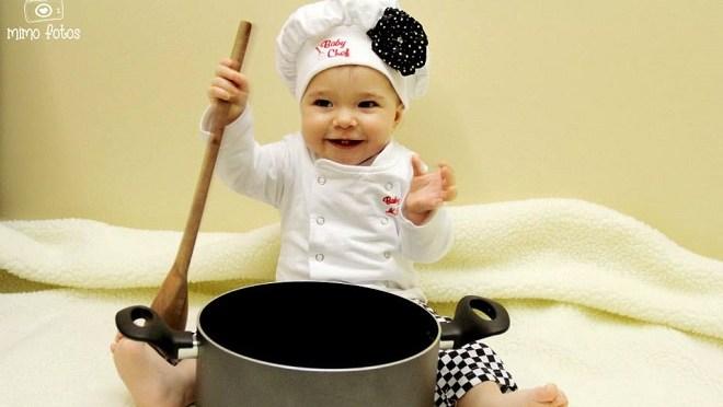 Crianças que cozinham comem mais e melhor