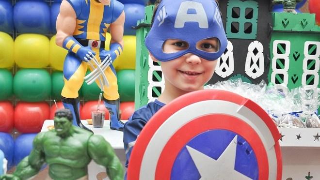Festa dos super-heróis