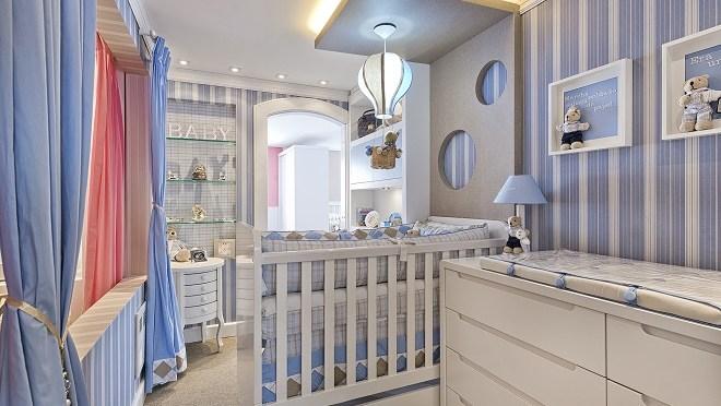 7 ideias para montar quarto de bebê para menino e unissex
