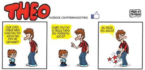 Imagem: Tirinhas do Theo