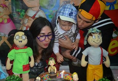Festa à fantasia do Chaves