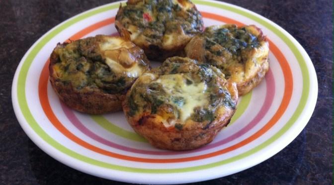 Omelete de forno para as crianças
