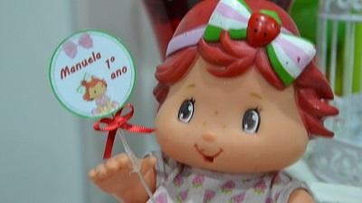 Posts + lidos: Festa da Moranguinho Baby