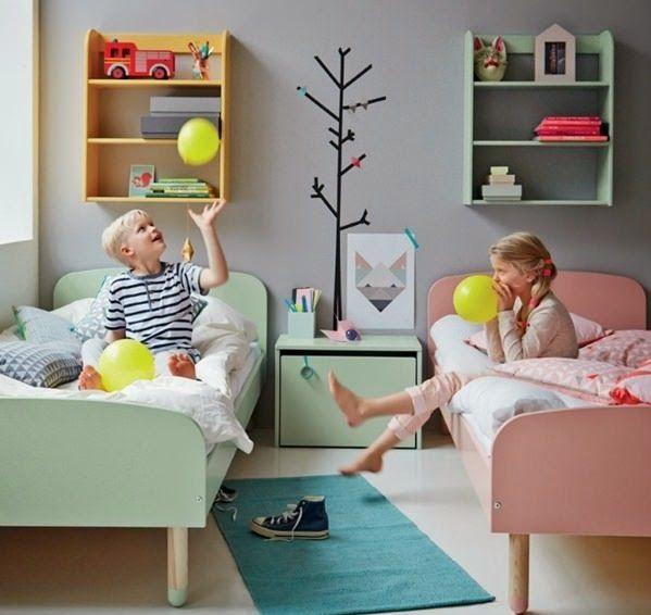 10 ideias de quarto para menino e menina (juntos)