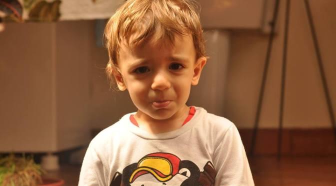 A terrível (e incrível) fase dos 2 anos de idade