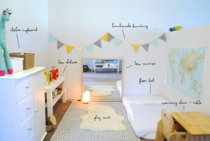 10 ideias legais de quartos montessorianos