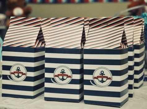 Caixinhas para lembrancinha marinheiro