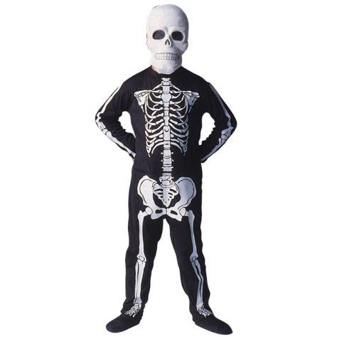 Fantasia de esqueleto para Halloween