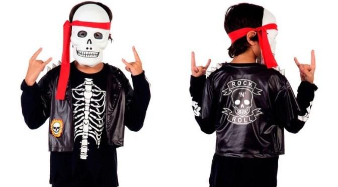 Fantasias de Halloween para meninos e meninas